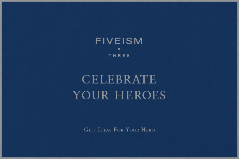 CELEBRATE YOUR HEROES | WHAT'S NEW | FIVEISM × THREE(ファイブイズム バイ スリー)公式ウェブサイト
