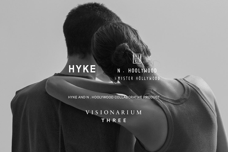 COLLABORATIVE COLLECTION HYKE × N.HOOLYWOOD × VISIONARIUM THREE | WHAT'S NEW | FIVEISM × THREE(ファイブイズム バイ スリー)公式ウェブサイト