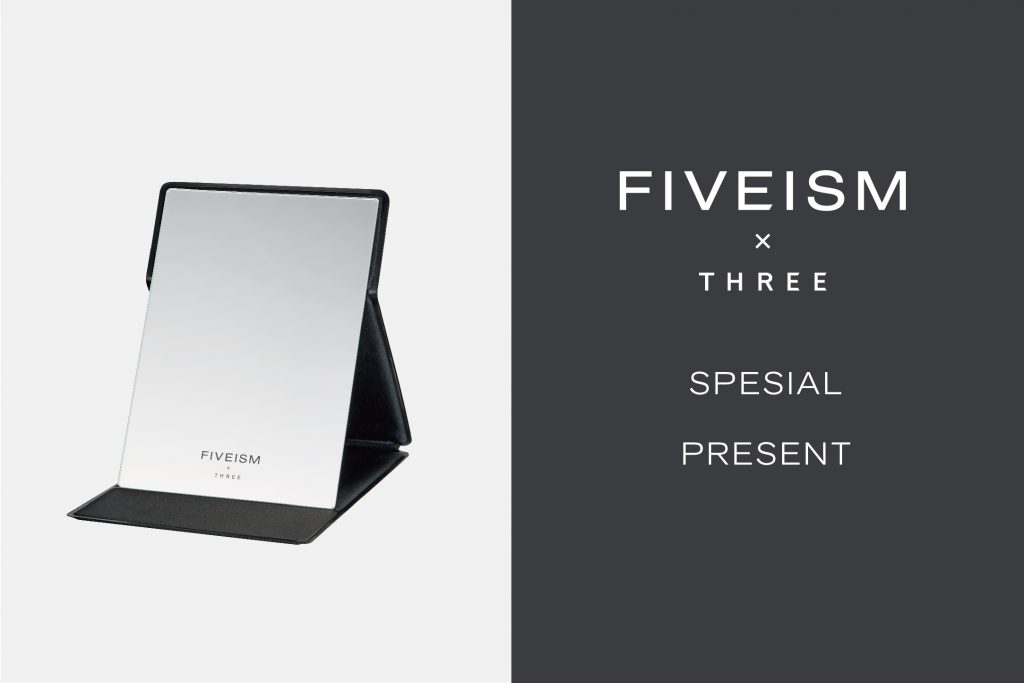 MEN'S HOLISTIC CARE SPECIAL PRESENT | WHAT'S NEW | FIVEISM × THREE(ファイブイズム バイ スリー)公式ウェブサイト